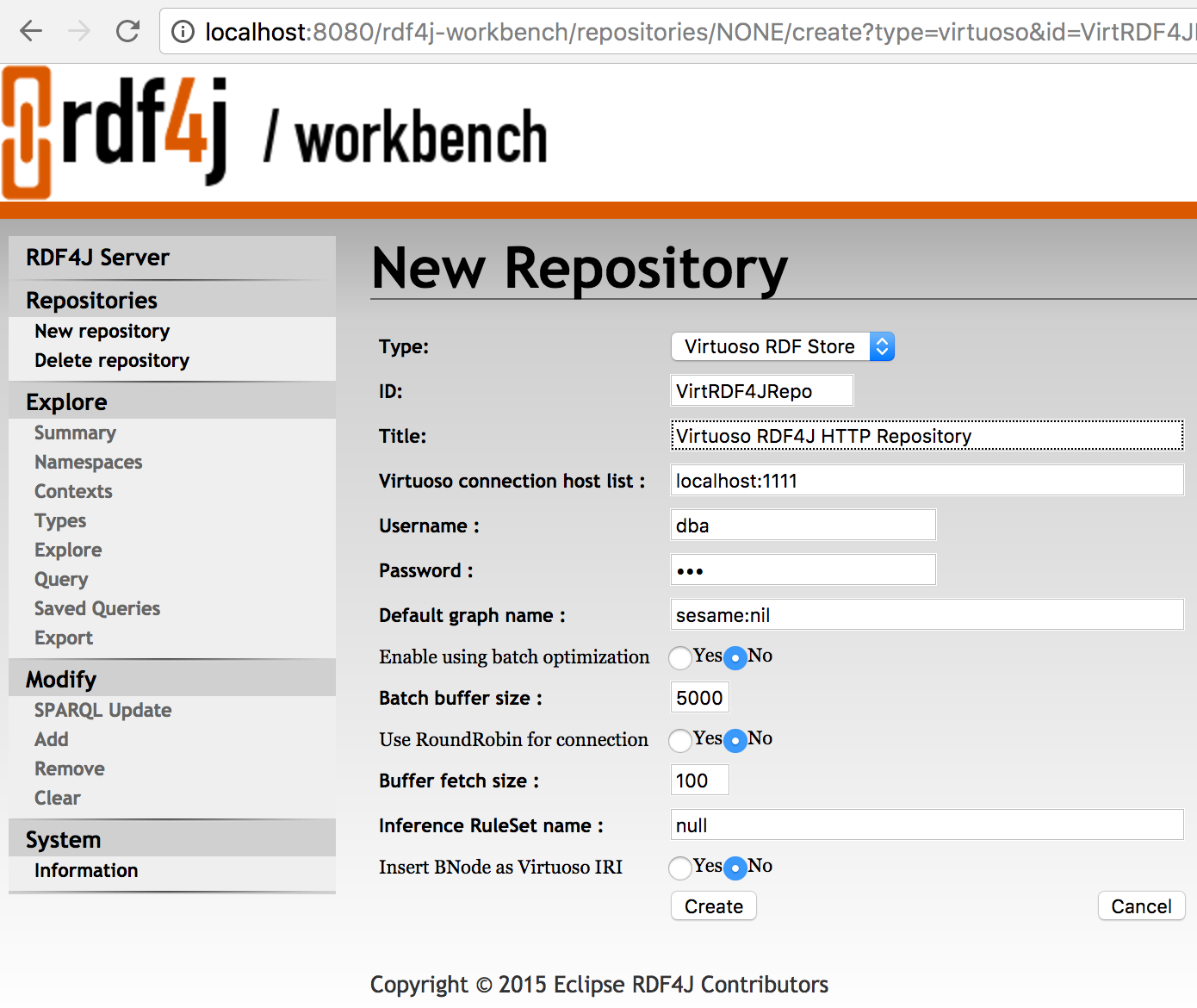 Using the RDF4J or Sesame Remote Repository Manager class